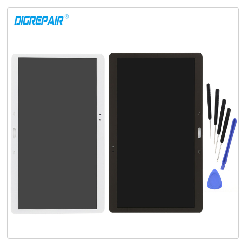 10 5 White Gold For Samsung Galaxy Tab S T800 T805 LCD Display Digitizer Touch Screen