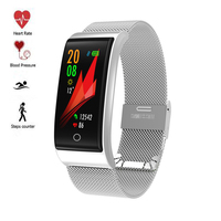 New Swimming Smart Watch Waterproof IP68 blood pressure heart rate sport Smart bracelet Color screen Wristband message