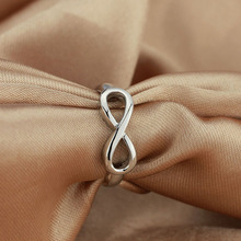 925 Sterling Silver Infinity Eternity Ring