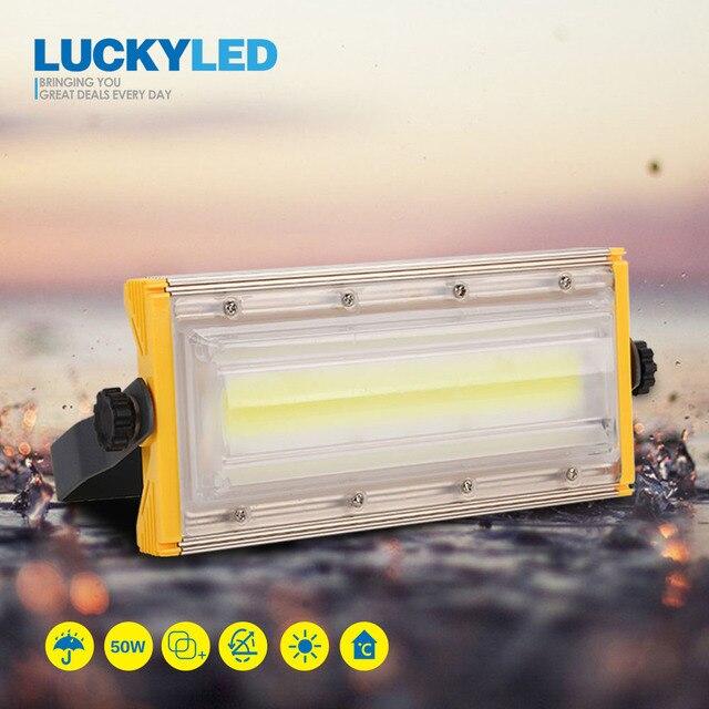 LUCKYLED Led Flutlicht 50W 220V 240V Wasserdichte Ip65 Flutlicht Led Reflektor Outdoor Led strahler Garten Beleuchtung