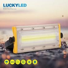 LUCKYLED Reflector Led impermeable para exteriores, 50W, 220V, 240V, Ip65, foco Led para iluminación de jardín