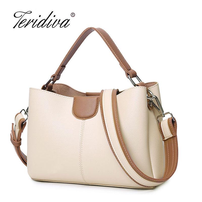 Teridiva Brand Designer Women Shoulder Bags High Qaulity Handbags Small Tote Bag Women Messenger Bag Ladies Purse Cross Body women vintage handbags ladies tote cross body shoulder messenger england