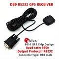 Приложений промышленного управления RS232 протокол выход UBLOX 6010 GPS чип дизайн разъем DB9 STOTON GPS приемник NMEA0183