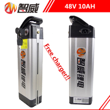 48V 10AH Lithium ion li-ion Rechargeable battery for electric bicycles (40KM) and all devices Power Source (FREE charger) 36v electric bicycle battery 24v 48v 20ah 10ah lithium ion li ion batteries for electric bike power source free charger