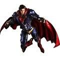 28 cm DC Liga Da Justiça Superman Anime Comics Jogar Arts Kai madrugada de Justiça Figura de Ação Brinquedos Modelo Coleção Presente para crianças
