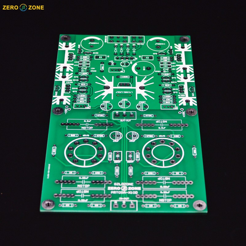 Lite Ls29 Pcb Tube Buffer Preamplifier Board Pcb Based On Musical Fidelity X10-d Pre-amp Circuit Moderate Price Audio & Video Replacement Parts