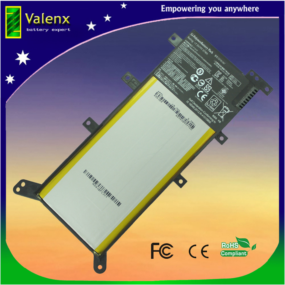 7.5V 37Wh Battery C21N1347 Laptop Battery For ASUS X555 X555LD F555A X555L X555LB X555LN F555U W519L X555LF X555LP F555UA F555UQ x555lf i7 5500cpu gt930m 2gb vram 4gb ram mainboard for asus x555l x555ldb x555lj x555lp x555lf w519l x555ld laptop motherboard