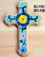 Ceramic Technology Home Furnishing Church Car Decoration Jesus Crucifixion Ornaments Christian Catholic Gift