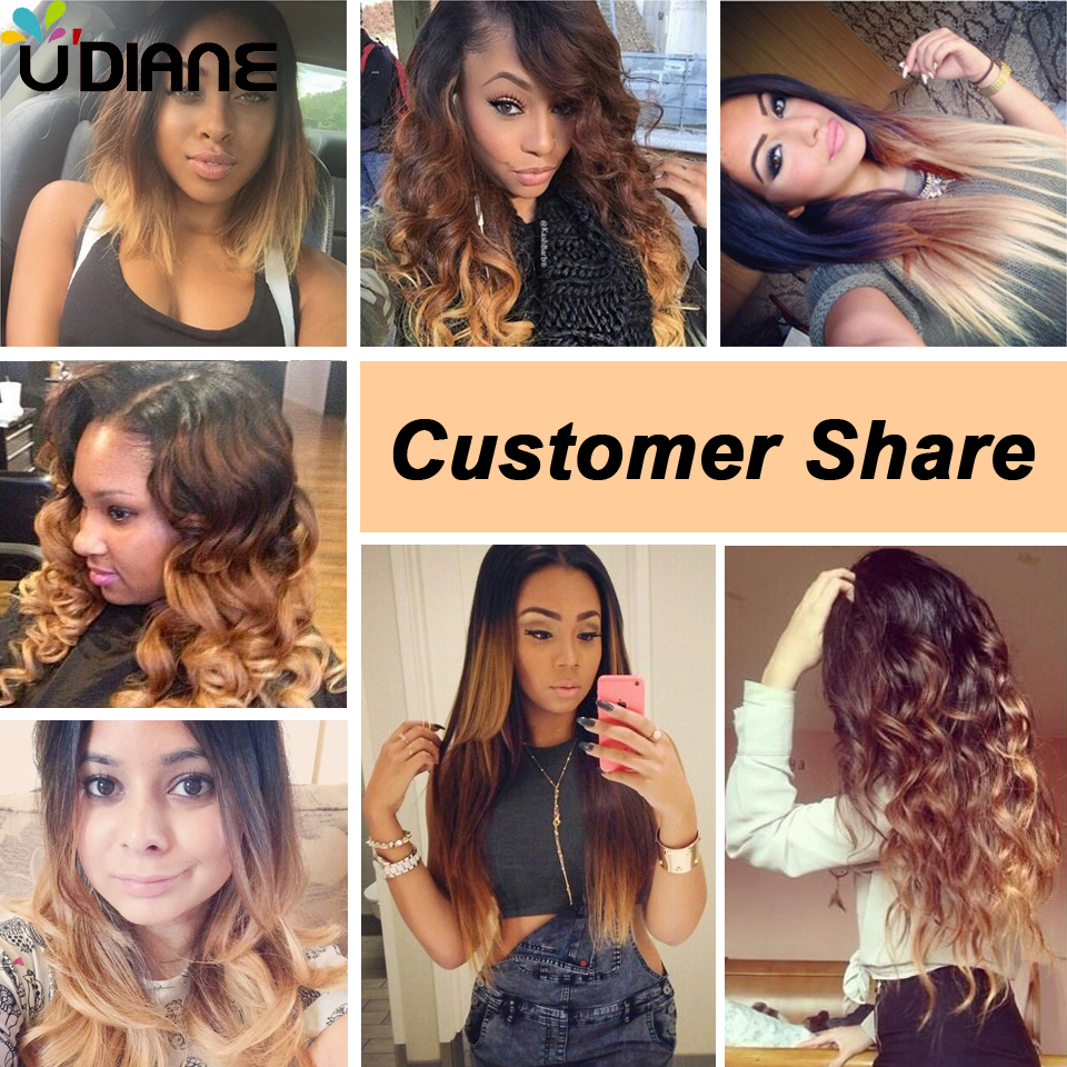 3 Tone Ombre Brazilian Hair Weave 3pcs Body Wave Ombre Hair