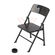 1pc Classic Foldable 1/6 Action Figure Chair 12 inch Figures Seat ,  #Black 501