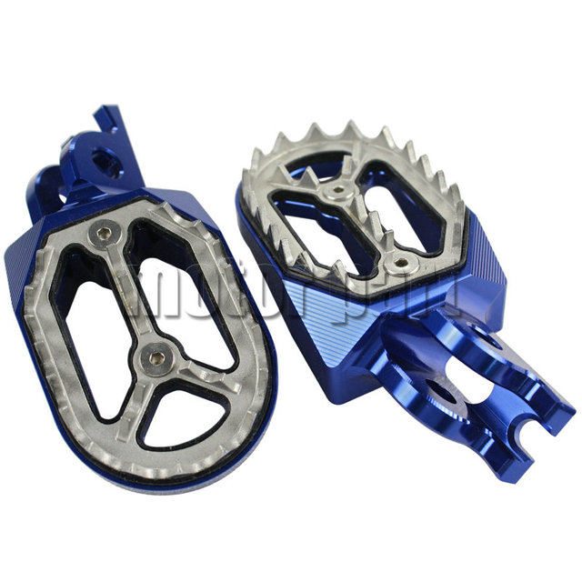 Motorcycle Footpeg Foot Rests Footrest For Honda Crf 450x 250r 150r