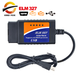 2017 Top selling ELM327 Interface USB OBD2 Auto Scanner V2.1 OBDII OBD 2 II elm327 usb Super scanner