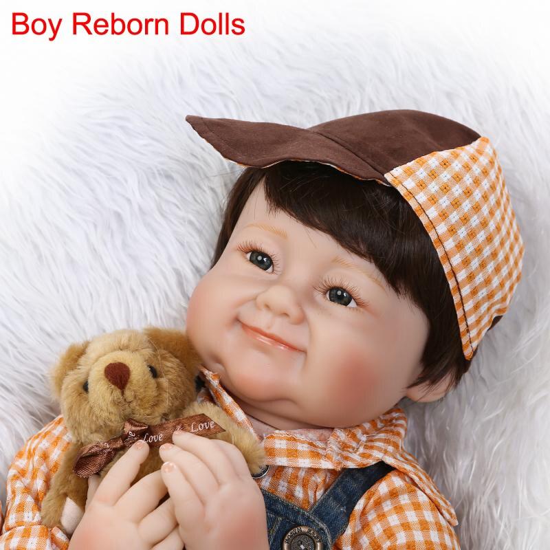 22 bebe boy bambole reborn baby falso silicone bambola realistica bambole del bambino appena nato toys regalo brinquedos bonecas menino22 bebe boy bambole reborn baby falso silicone bambola realistica bambole del bambino appena nato toys regalo brinquedos bonecas menino