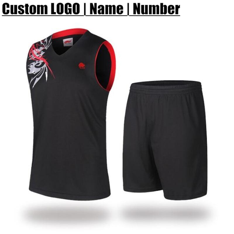 100set Custom LOGO&Name&Number,Adult Man Pro Basketball Jersey Sets,Kid&Child Boy Sports Clothes (T-Shirt+Shorts),Training&Match
