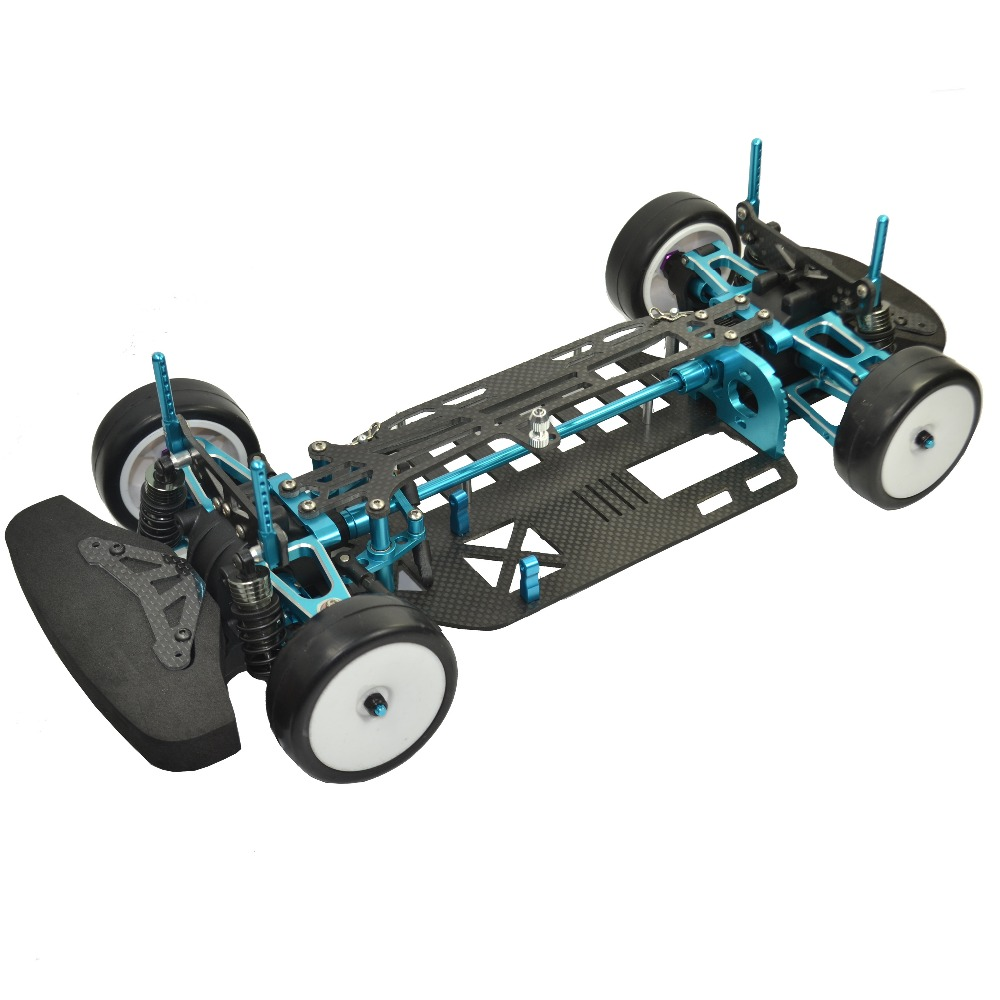 Hight Quality Aluminium alloy&Carbon  Shaft Drive 1/10 4WD Touring Car Frame Kit for TAMIYA TT01 TT01E Car vik max adult kids dark blue leather figure skate shoes with aluminium alloy frame and stainless steel ice blade