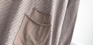 Image 5 - YoYiKamomo Camisa de algodón a rayas para mujer, blusa holgada de manga larga de algodón y bambú para primavera y verano, Color liso, 2018