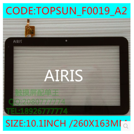 New 10.1 inch tablet capacitive touch screen TOPSUN_F0019_A2 free shipping