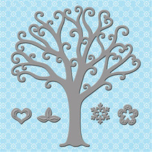 YaMinSanNiO Tree Metal Cutting Dies New 2019 for Scrapbooking Card Making Embossing Stencil Diecut Paper Craft