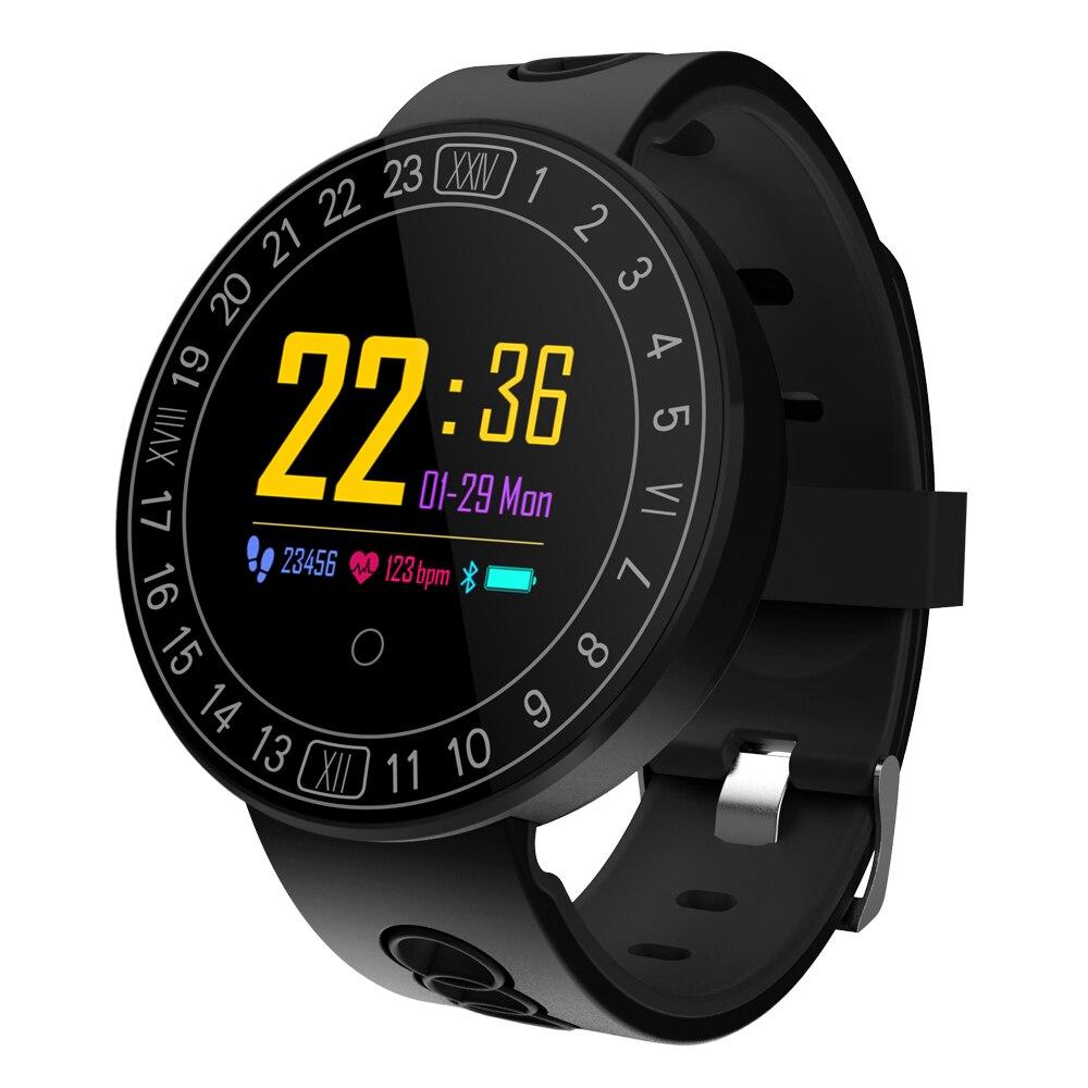 DHL Q8 Plus Smart Watch Wristband Heart Rate Blood Pressure Monitor Sports Smart Bracelet Motion tracking Waterproof Bluetooth new garmin watch 2019