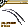 New Car Styling For Subaru BRZ ZC6 FOR Toyota FT86 ZN6 Scion GT86 Carbon Fiber Wind Deflector Visor 2pcs