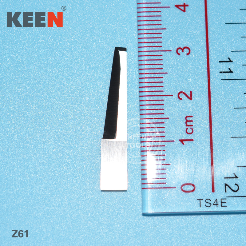 US $52 99  Cutting Fiber Tungsten Steel Carbide Blade for various  materials, as carboard,gasket material,foam rubber,cork Z61-in Milling  Cutter from