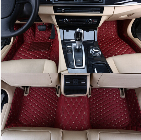 High quality & Free shipping! Custom special floor mats for Mercedes Benz C 200 250 300 Coupe 2018 2015 waterproof car carpets