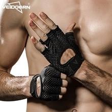 Gym Gloves Weight-Lifting Non-Slip Breathable Sports-Fitness Women Veidoorn Unisex