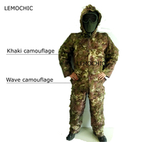 LEMOCHIC wader birdwatch hunting tactical paintball airsoft sniper tropic militar combat tactical desert camouflage ghillie suit