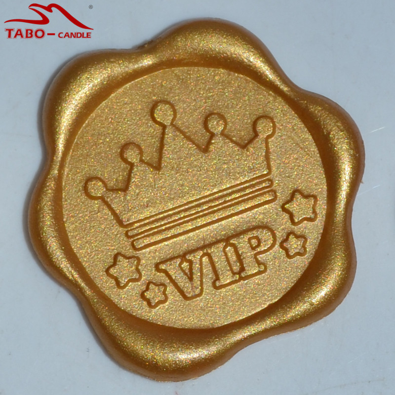 50pcs Wax Seal Stickers Sealing Wax Stickers for Envelope Decoration DIY Wax Seal Sticker