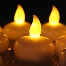Водонепроницаемый Светодиодный светильник с плавающим чайом, беспламенная свеча, украшение для дома, свадьбы, вечеринки, May06