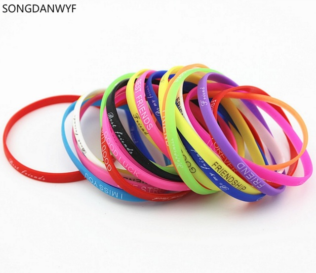 blank bracelets bands silicone and wristbands silicon