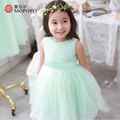 2016 Tutu Dress Girl Flower Dress Sleeveless 3 Colors Princess Dress Girls Costumes Fairy Children Dresses Girls New Kids Party