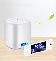 220V 4L Air Purifier Humidifiers Touch Control Hot Fog Sterilization Air Humidifiers H 450 For Home