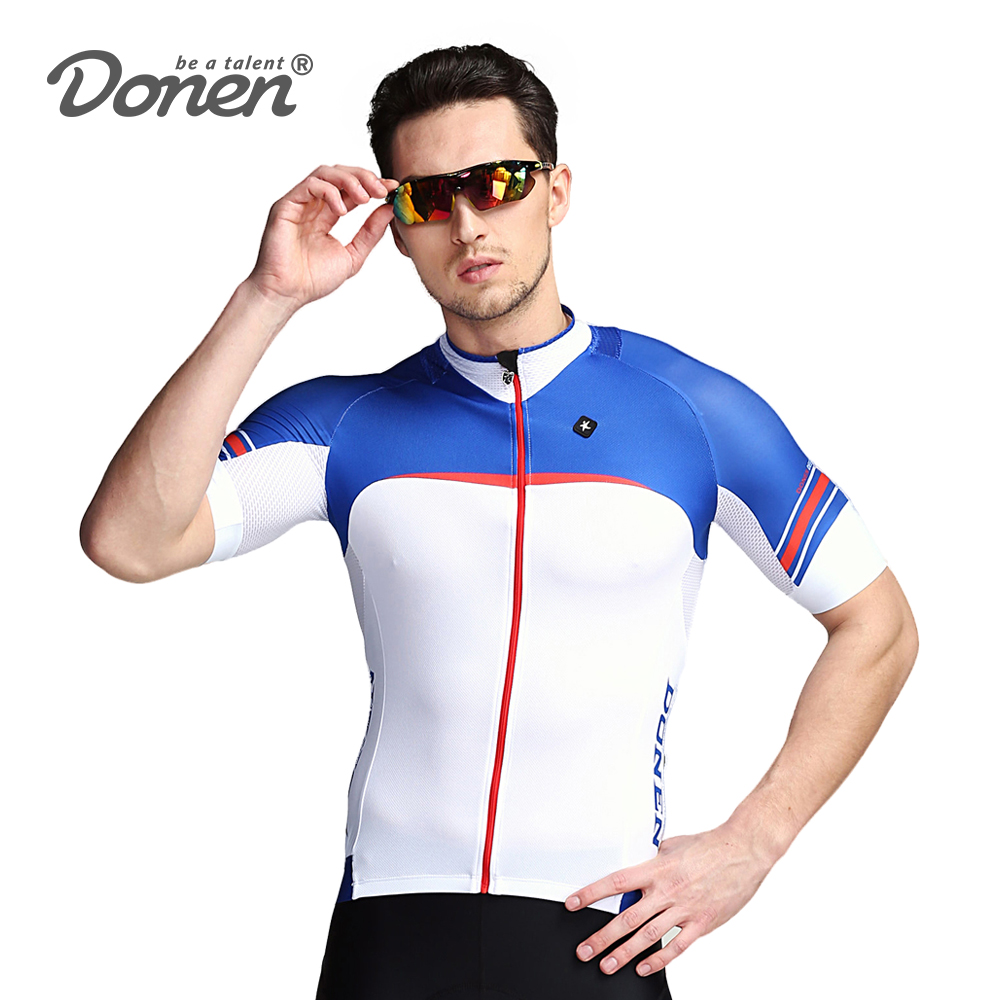 DONEN Summer Cycling Jersey Breathable  Mountain Bike Clothing Quick-Dry Racing MTB Bicycle Clothes Uniform Cycling ClothingDONEN Summer Cycling Jersey Breathable  Mountain Bike Clothing Quick-Dry Racing MTB Bicycle Clothes Uniform Cycling Clothing