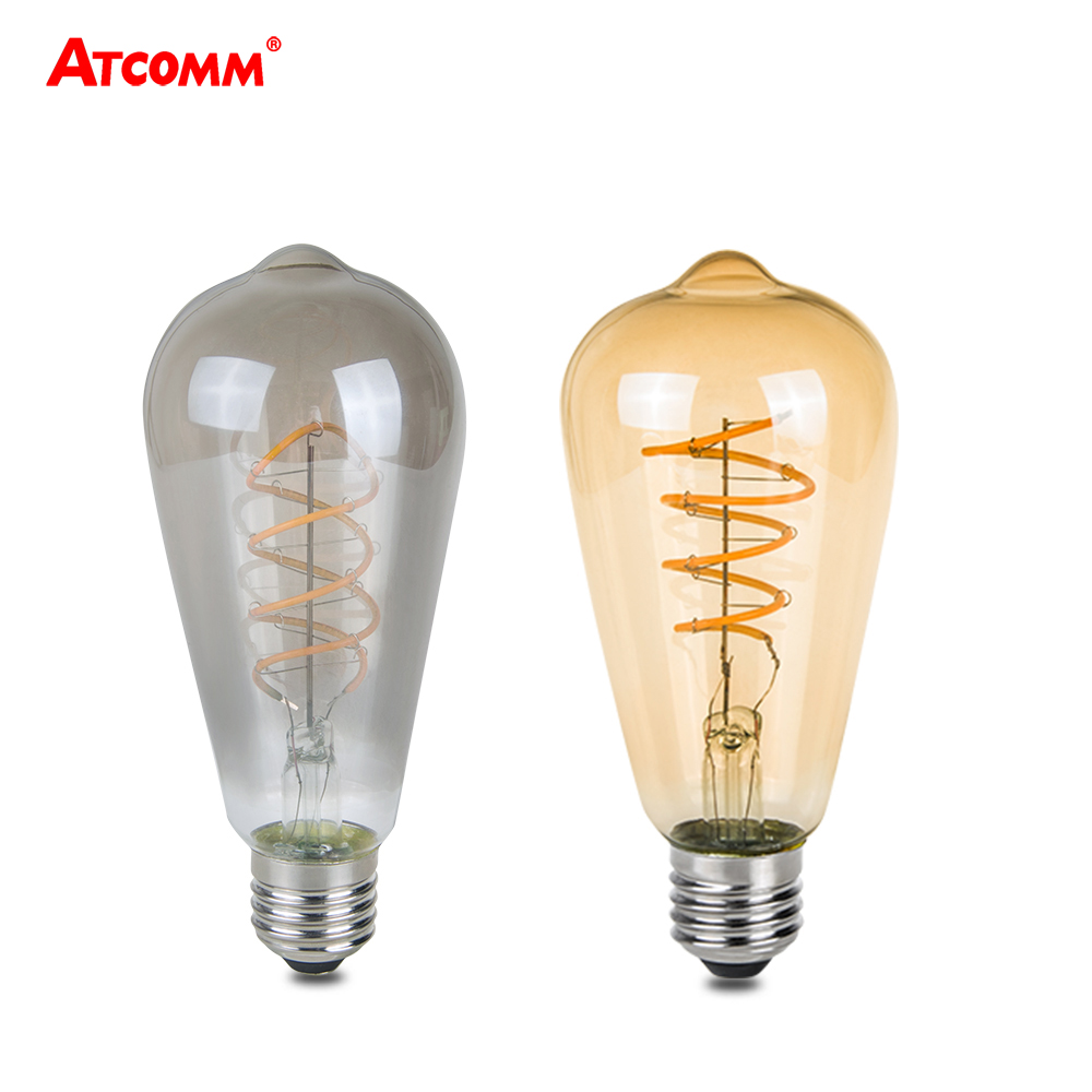 retro led e27 edison bulb 3w 85 265v 220v vintage antique. Black Bedroom Furniture Sets. Home Design Ideas