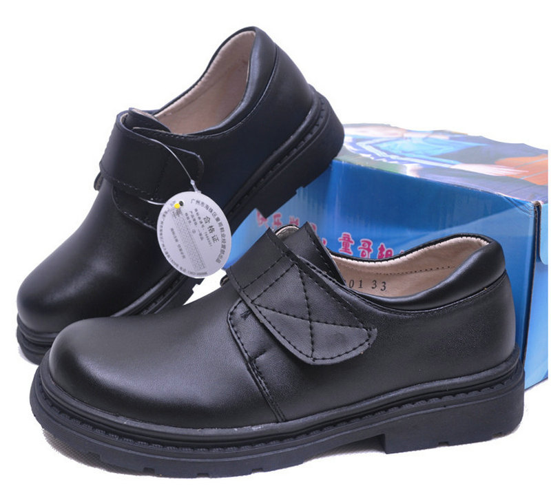Fashion Boys Children Cow Leather Shoes Student School Shoes Children Casual Shoes Flats Kids Sneakers For Kids Baby