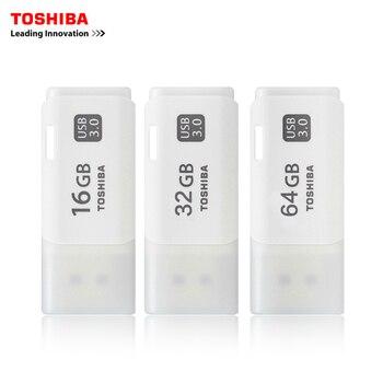 TOSHIBA USB 3.0 USB flash drive 64 GB pojemność rzeczywistym THUHYBS 32 GB 16G USB flash drive jakości pendrive 16G pen Drive oryginalny