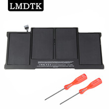 LMDTK New laptop battery FOR APPLE MacBook Air 13″ A1466  2013 year MD760 MD761  A1496  free shipping