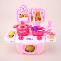Diy Pretend Play Kitchen Toys For Children Mini Kitchen Toys Set Simulate Cooker Toys Gift For