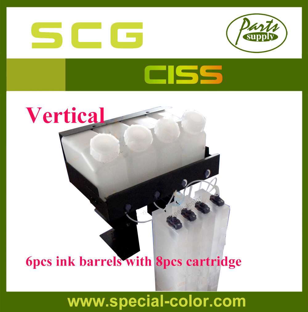 Vertical CISS! Roland VS640/540/420/300 Continuous Ink Supply System (6x8 CISS) roland vp 540 rs 640 vp 300 sheet rotary disk slit 360lpi printer parts