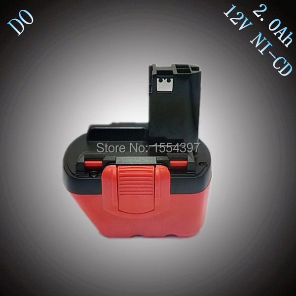 Sale 12V 2000mAh Ni-CD Rechargeable Power Tool Battery Replacement for Bosch 12V BAT139 BAT043 BAT045 BAT046 BAT049 BAT120