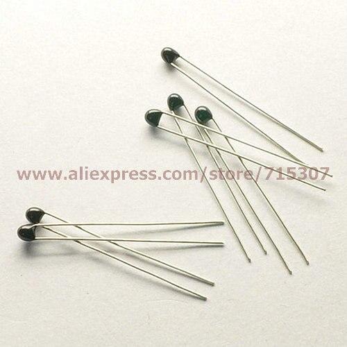 ⑥PHISCALE 50 шт термистор NTC-MF52-103/3435 10 K 1 ...