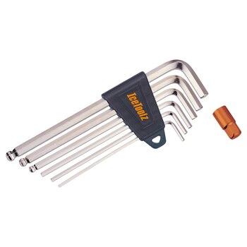 IceToolz 36Q1 шестигранный ключ для шлица «звездочка» Набор торцевых гаечных ключей 2 2,5, на возраст 3, 4, 5, 6, 8 мм 4x5x6 мм Бал состава 7 шт./компл. L-разво...