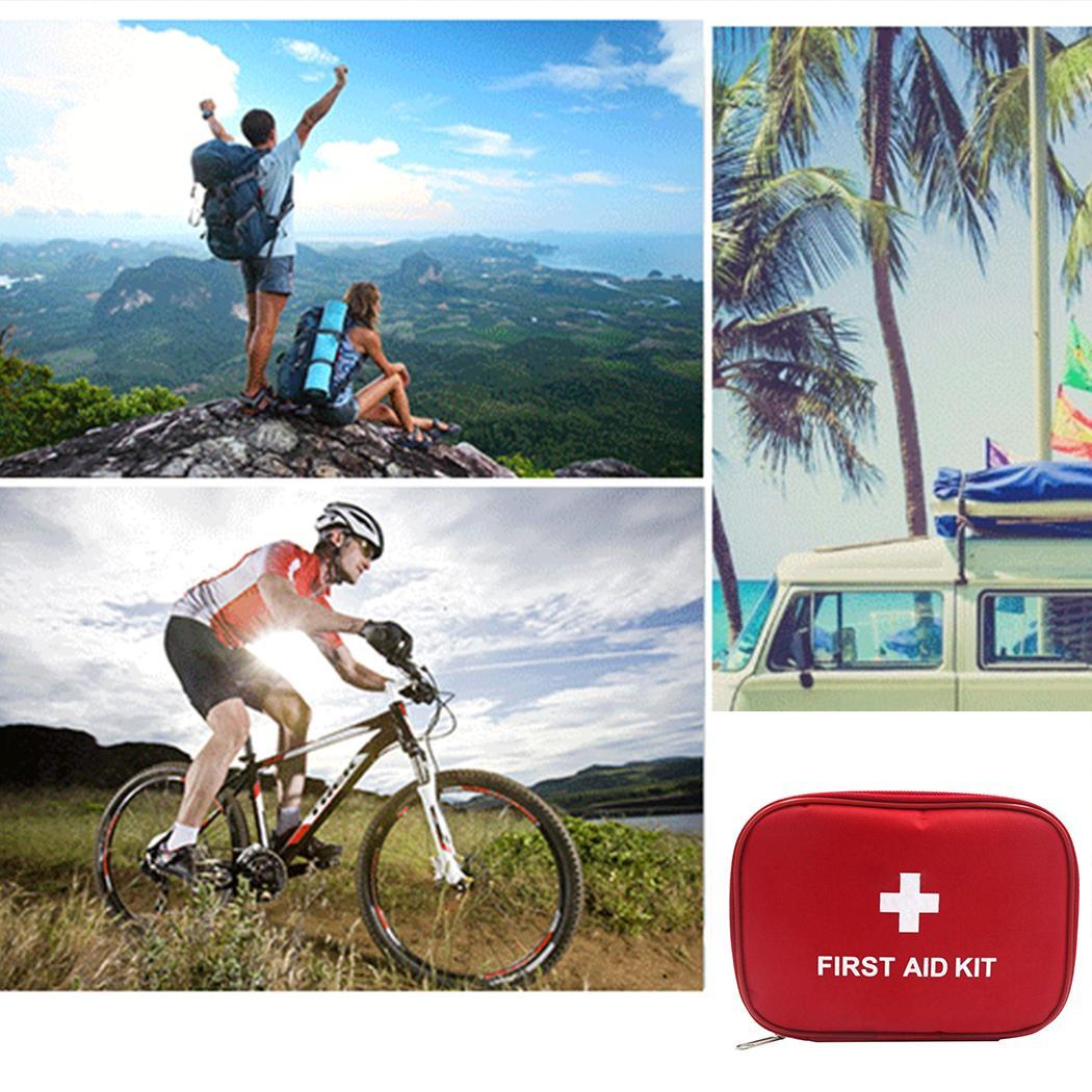 Outdoor Mini Portable Travel First Aid Kit Bag Home Emergency Medical Box