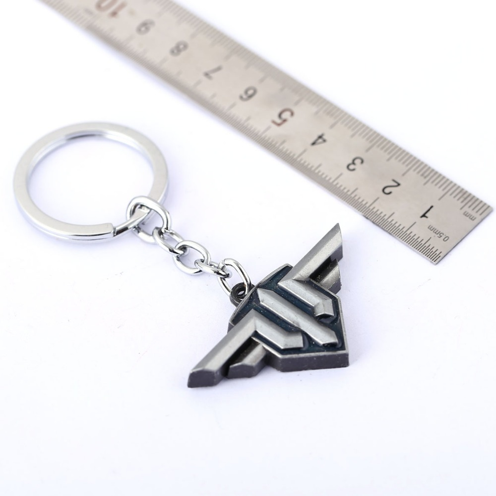 World of Warplanes Key Chain 2016 New Key Rings For Gift Chaveiro Car Keychain Jewelry Game Key Holder Souvenir YS11268
