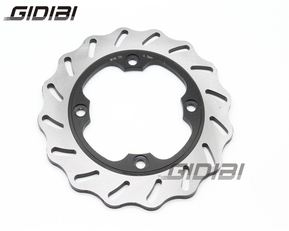 New Motorcycle Rear Brake Disc Rotor For Honda CBR600 F2/F3/F4/F4i 1991-2006 CBR 600 RR 2003-2008 05 06 CB 600 HORNET 1998-2006 for honda cbr 600 f2 f3 f4 f4i 1991 2007 folding extendable brake clutch levers cnc aluminum accessories 8 colors