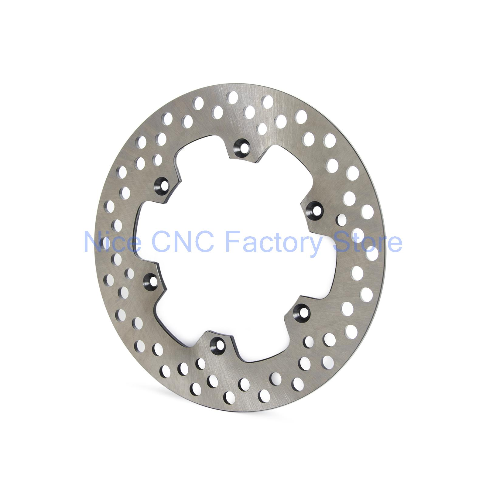Motorcycle Rear Brake Disc For Suzuki DR125 08-12 RM125 88-98 RM250 87-98 RMX250 95-97 DR-Z400 00-09 KLX400 KLX400R 03 04 NEW 220mm rear brake disc rotor for suzuki rm125 rm 125 1988 1995 rm250 250 1996 1999 rmx250 rmx drz400 drz400 srz400s drz400e