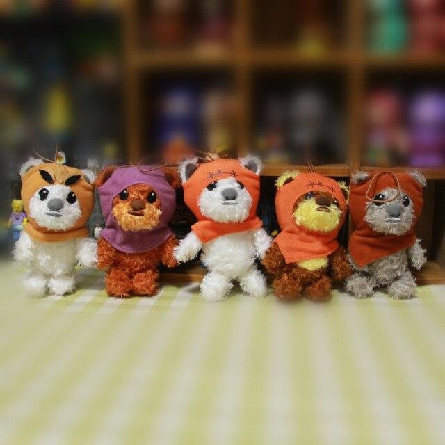 Star Wars Wicket Ewok Plush Toys Stuffed Animals Cute Small Pendant