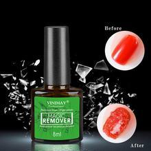 3-5 Minutes Burst Nail Polish Gel Magic Remover Nail Polish Remover Soak off Nail Polish Degreaser Nail Art Primer Lacquer сумка printio minion america