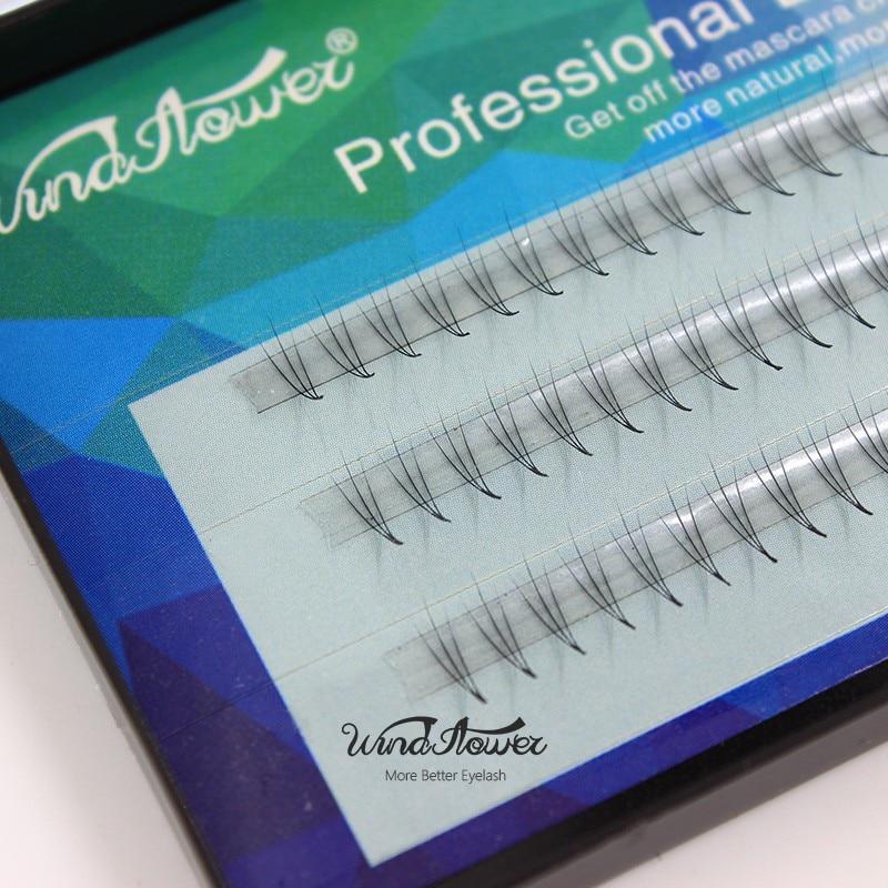 Natural 3D False Eyelash Extension Makeup 0.07mm C Curl Faux Mink Silk Hair Fake Eye Lashes Eyelashes
